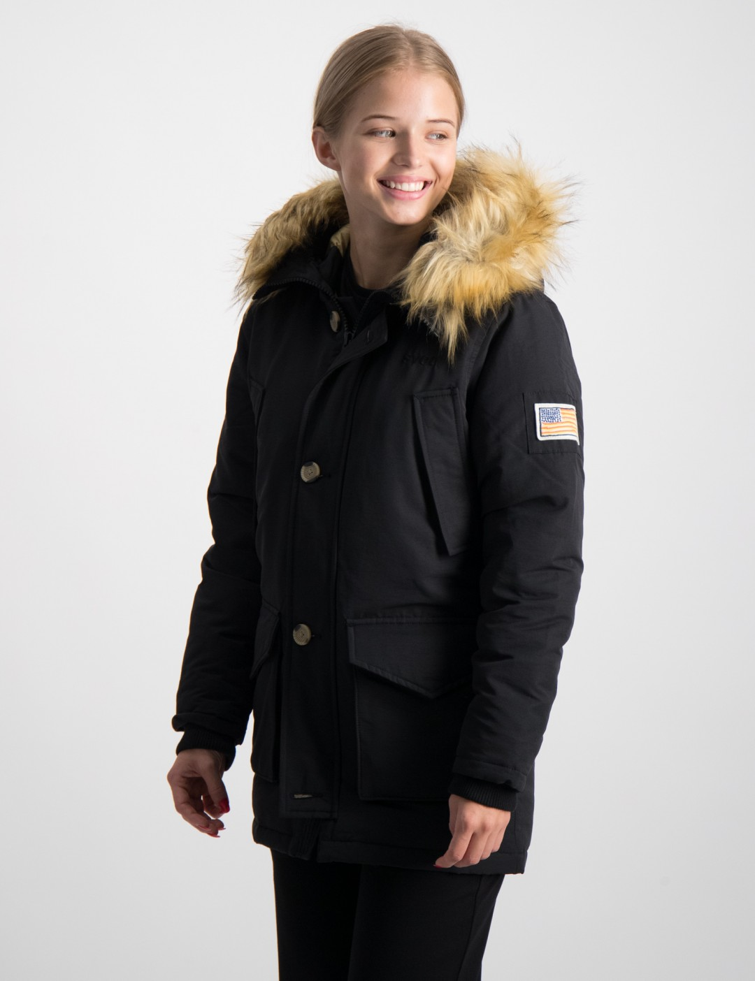 Om Smith Jr Jacket Blå från Svea | KidsBrandStore