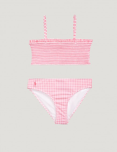 Ralph Lauren - GINGHAM 2 PC-SWIMWEAR-2 PC SWIM