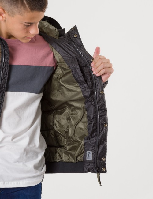 Scotch & Soda - Padded hood jacket