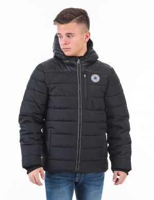 Matte Shiney Polyfill Jacket