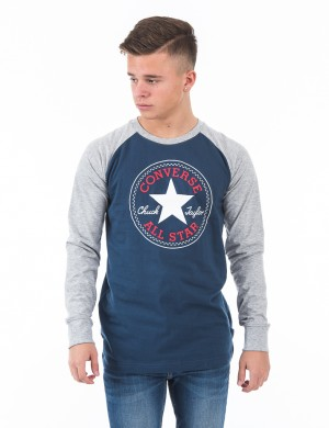 L/S Chuck Patch Raglan