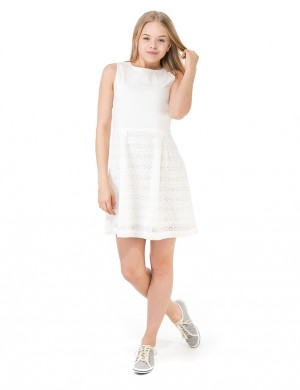 O.GIRLS BROIDERIE ANGLAISE DRESS