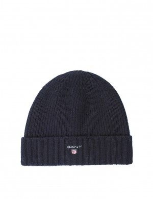 O2. LINED COTTON/WOOL BEANIE
