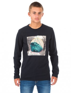 LS CLASSIC TEE BERMUDA TRANGLE
