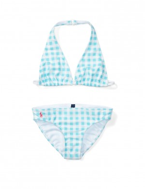 GINGHAM 2 PC-SWIMWEAR-2 PC SWI