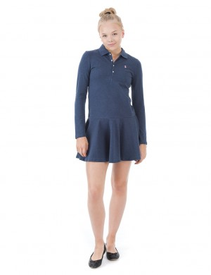 LS POLO DRESS