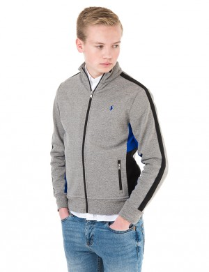 FULL ZIP MOCK
