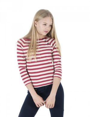STRIPE TOP-TOPS-KNIT