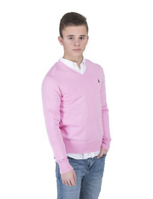 LS VN PO-TOPS-SWEATER