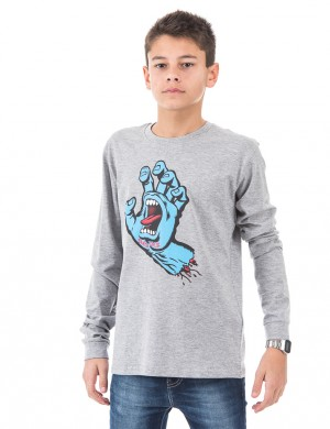 Screaming Hand L/S T-shirt