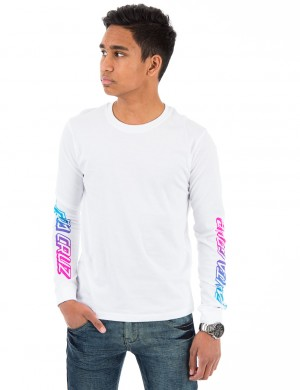Youth Cali Fade L/S Tee