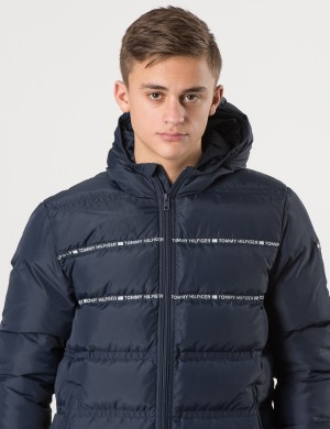 DOWN MIX SHELL JACKET