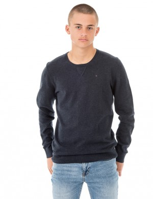 AME BASIC HTR CN SWEATER