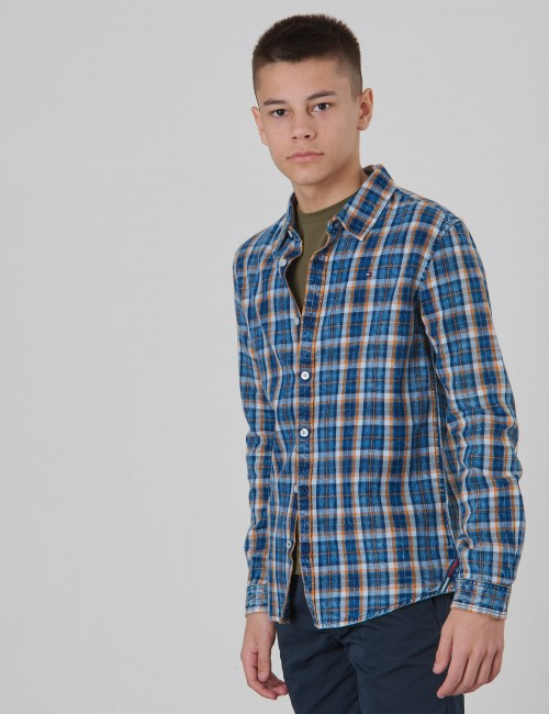 Tommy Hilfiger - SOFT CHECK SHIRT L/S